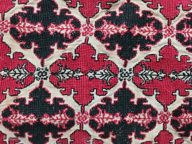 Balkan cross stitch.