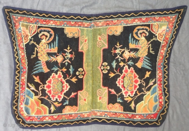 Tibetan saddle rug, ca. 1920, 108 x 70 cm