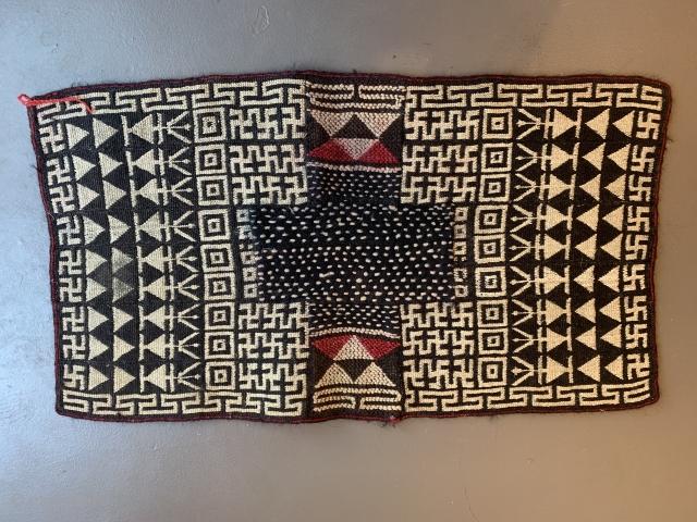 Saddle rug for a Yak, Tibet, first half 20th century, 91 x 52 cm