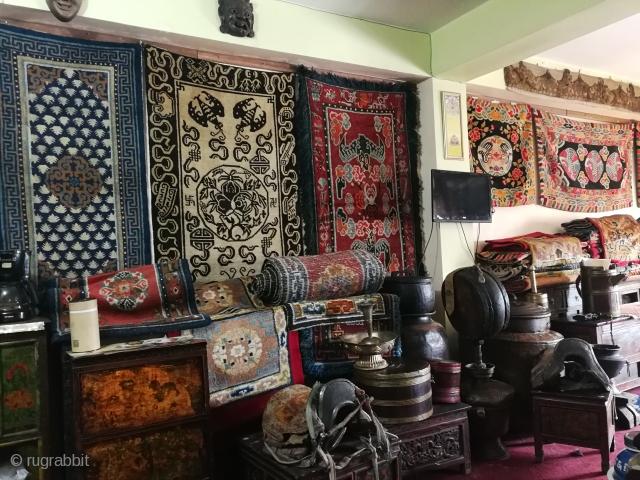 Antique Tibetan Rugs.