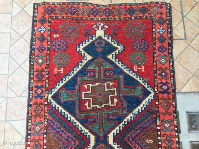 antique east anatolian hakkari cm 3.05 x 092  good  condition