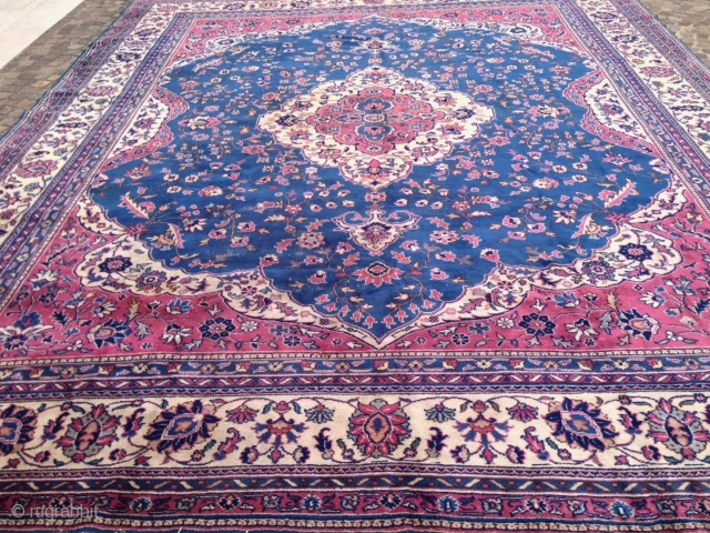 antique anatolian isparta or siwas carpet  cm 4.65 x 3.60 1910 circa