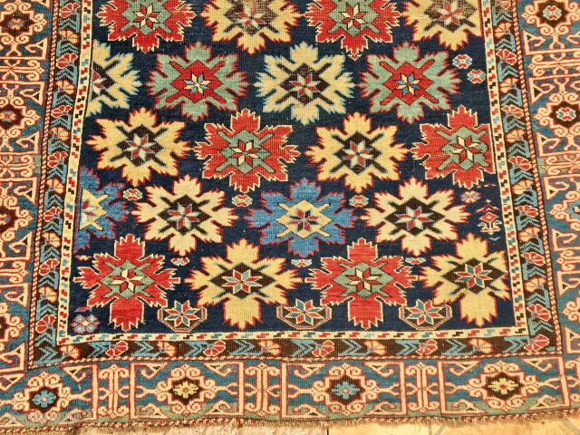 caucasian cuba  cm 1.36x 1.10       19th Century  