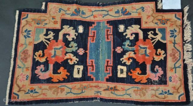 Tibet saddle rug   cm 097,x 057