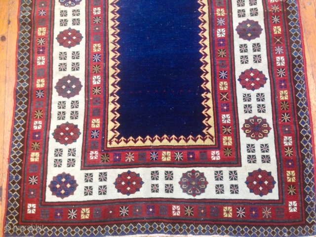 ANTIQUE CAUCASIAN TALISH  RUG exhibiting at the sartiranatextileshow.it dal 14/18 september 2016 italy more info please contac INFO@ANATOLIANTAPPETI.COM