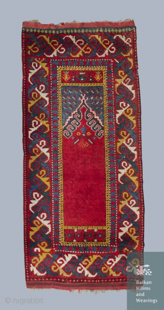 Balkan area, prayer rug.