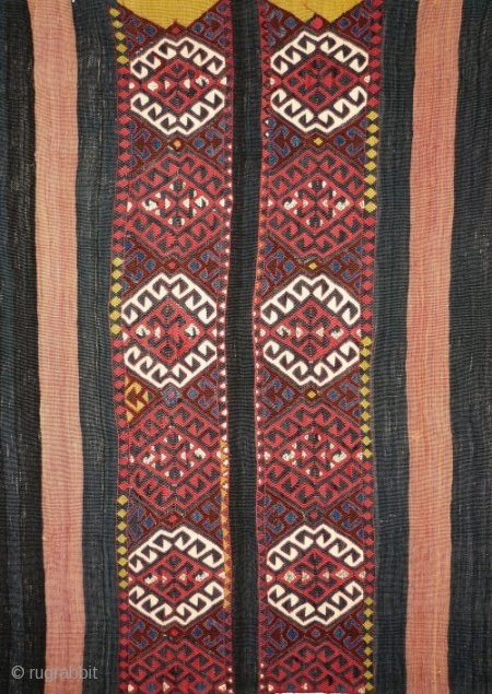 # 811 Kurdish cuval, 103/153 cm (unsewn), Malatya area, Southeast Anatolia, ca. 1900, very good condition, cf. Landreau, No. 21!