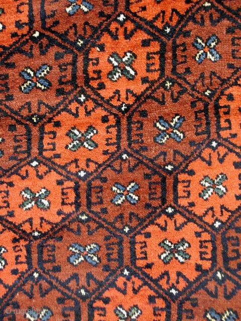# 539 Rare Kordi rug, 157/268 cm (unusual size!), Khorasan, Northeast Persia, early 20th century, full pile, good colours, no comparable piece known. 