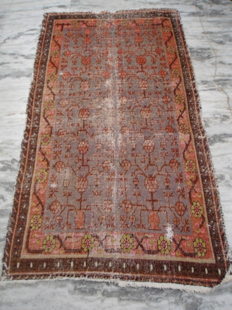 circa 1900s khotan rug