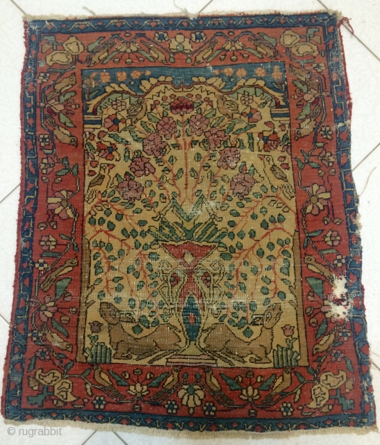 Ferehan small carpet size 75x60cm