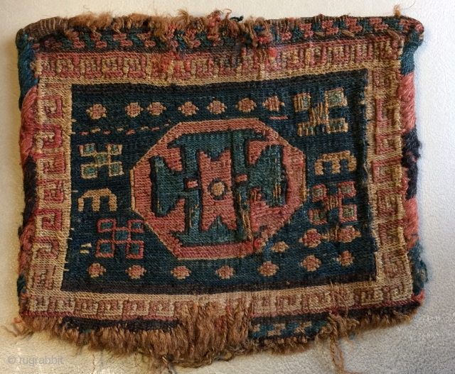 Very old Shahsavan bag  size 18x20cm