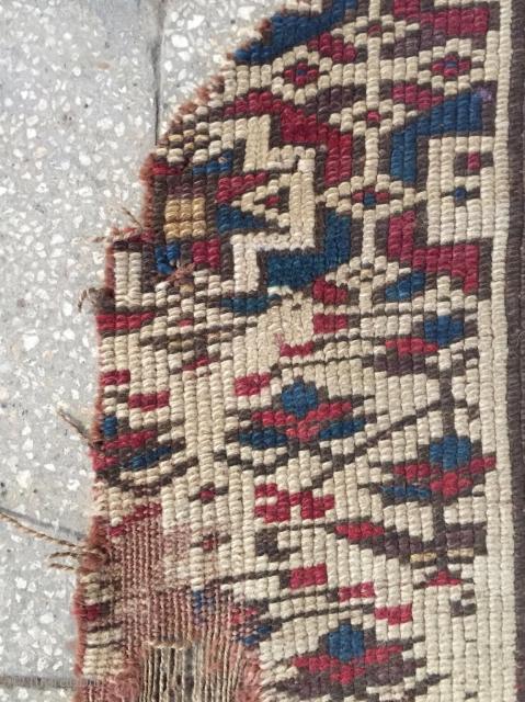 Shahsavan fragmand rug size 150x45cm