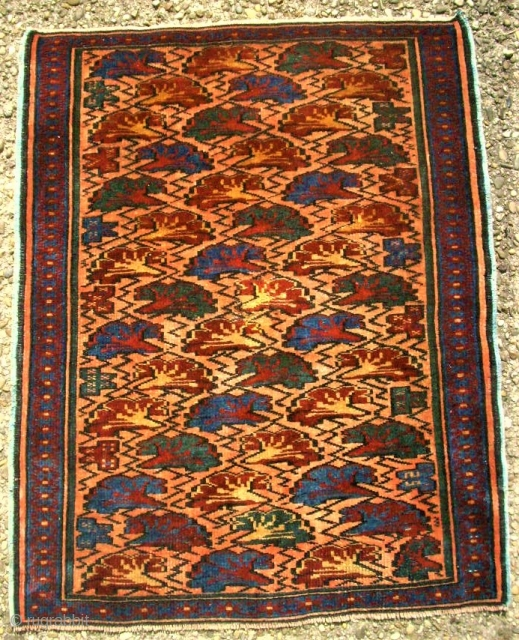 small caucasian rug. Size: 63 x 78 cm. Very fine item. Perfect condition.