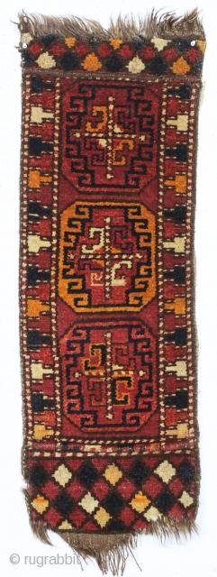 Antique Liitle Pile Uzbek Or Something Yastik Like Object