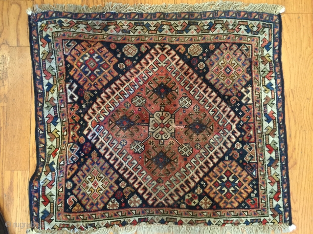 South-West Persian Qashqai bagface.