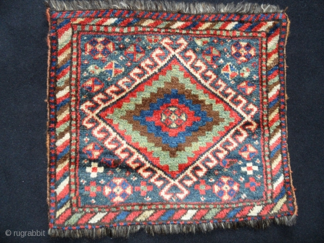 Luri bag face. in very good condition and good pile.all colours are natural.