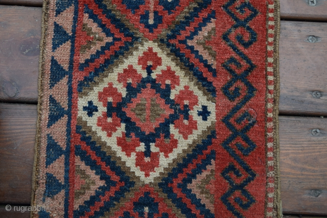 Kyrgyz or Uzbek Central Asian Band circa 1900s. Size 234x034 wool on wool.
