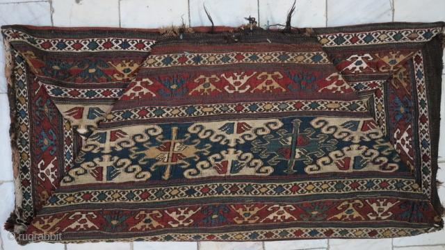 A Shahsavan Mafrash Soumac size : 52 x 100 x 45 price : SOLD