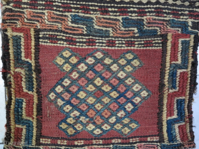 Kordish ( Kalat ) Salt bag technique ladi kilim wool on wool size: 56 x 33 price: POR