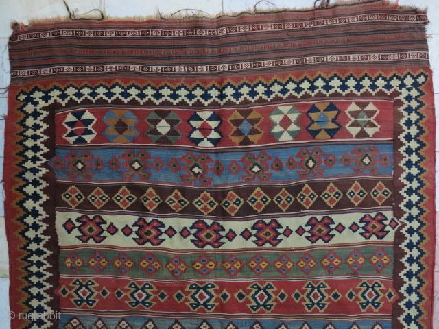 Qhashqhai Kilim size: 268 x 140 cm price: SOLD
