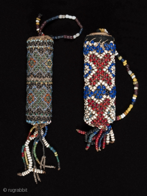Beaded lime containers,
