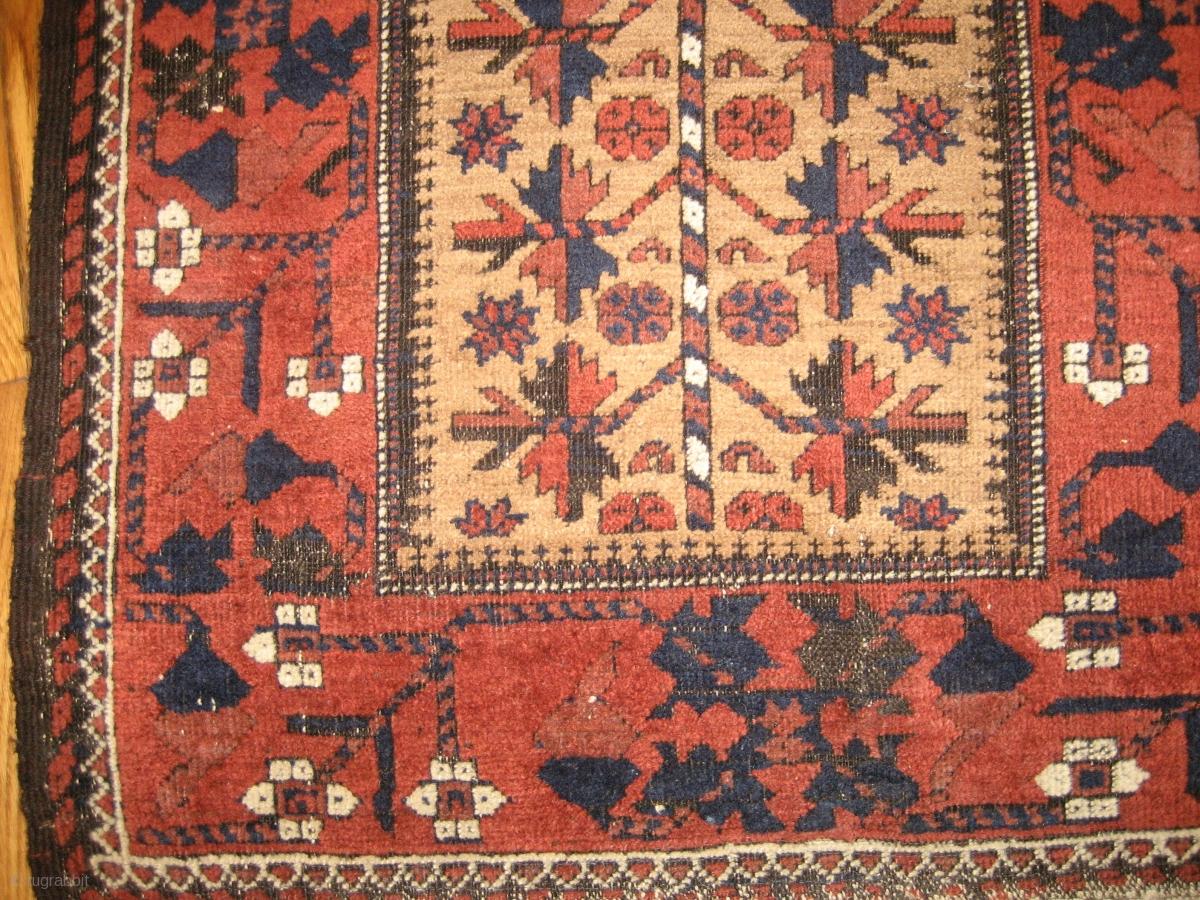 Antique Baluchi Rug Circa 1900 5 4 X 2 7 The Natural