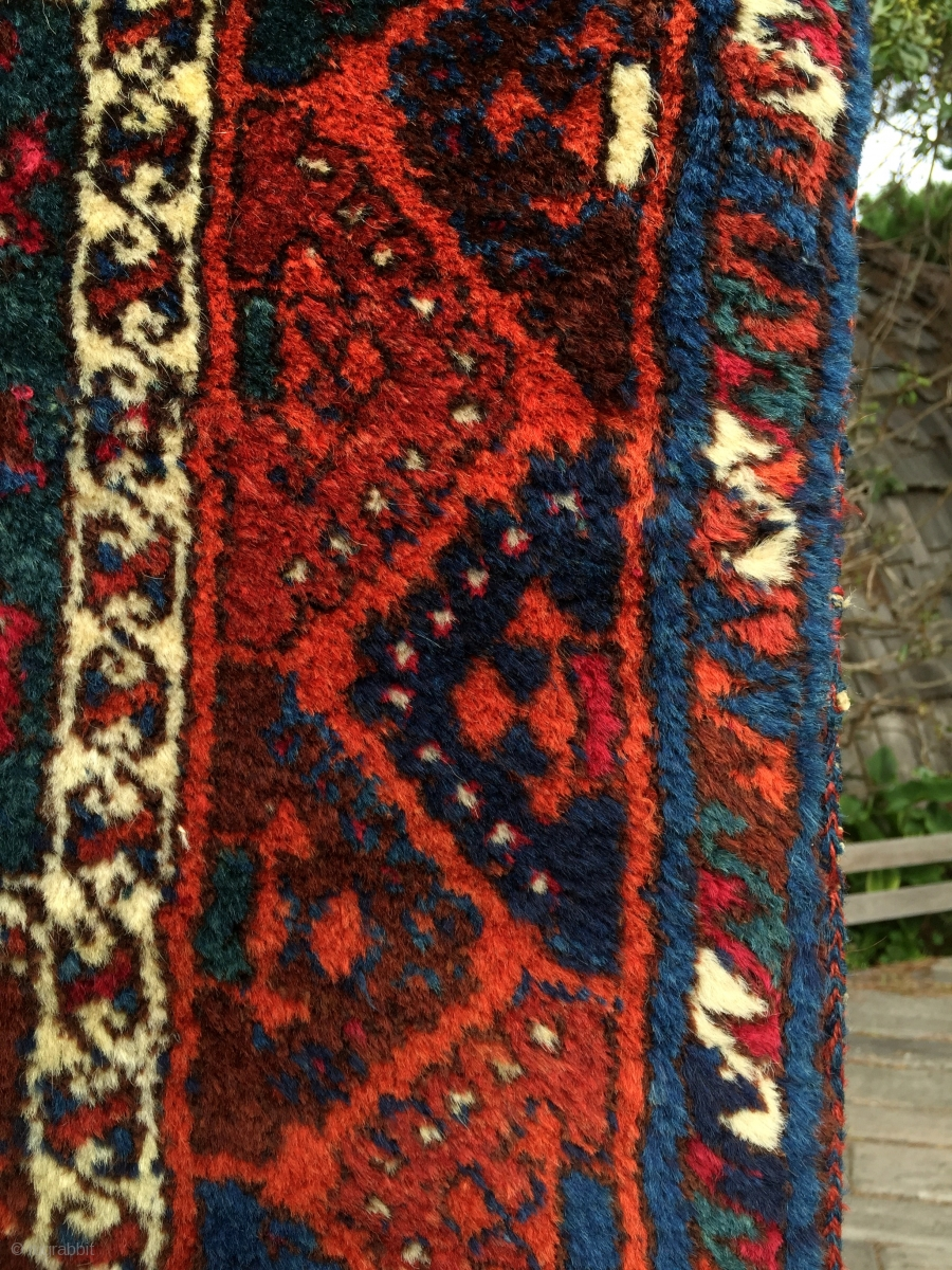 Wild And Woolly South East Anatolian Kurdish Rug From