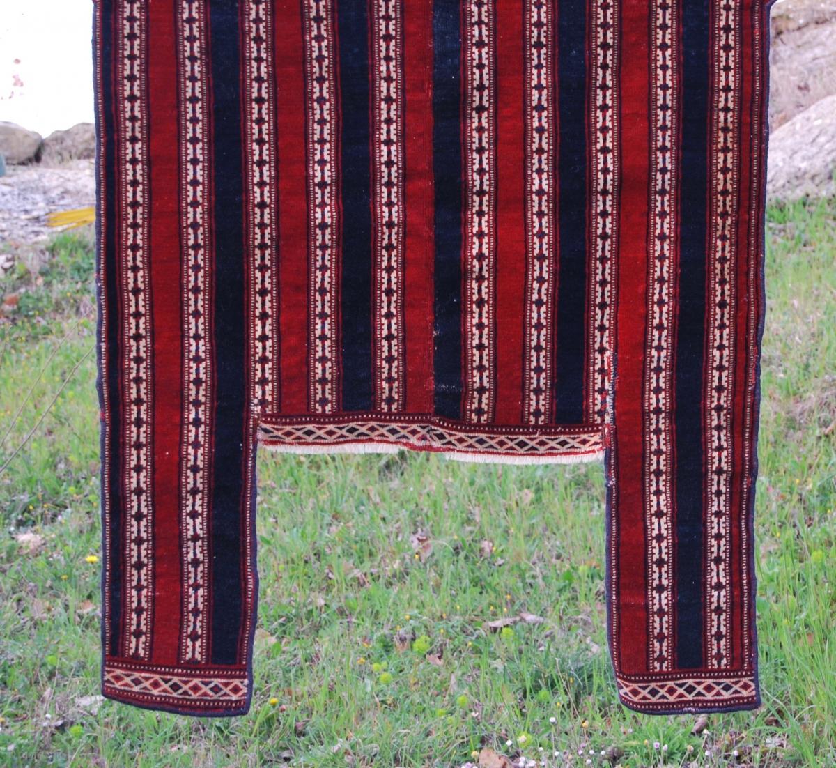 Goklan Yomut Of Northern Persia Horse Blanket Cm 125x135