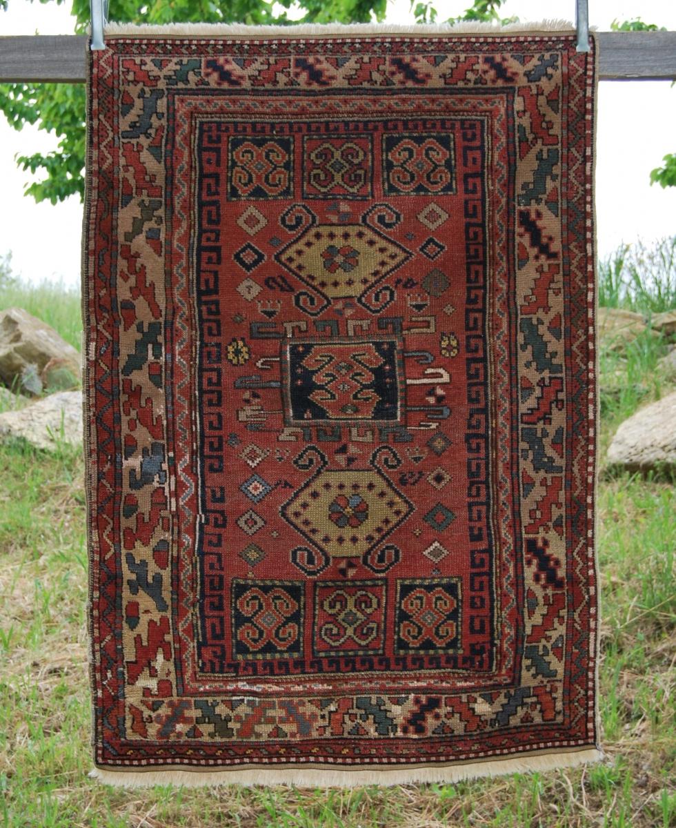 Kozak Rug From Bergama Area, Western Anatolia. Size Is Cm
