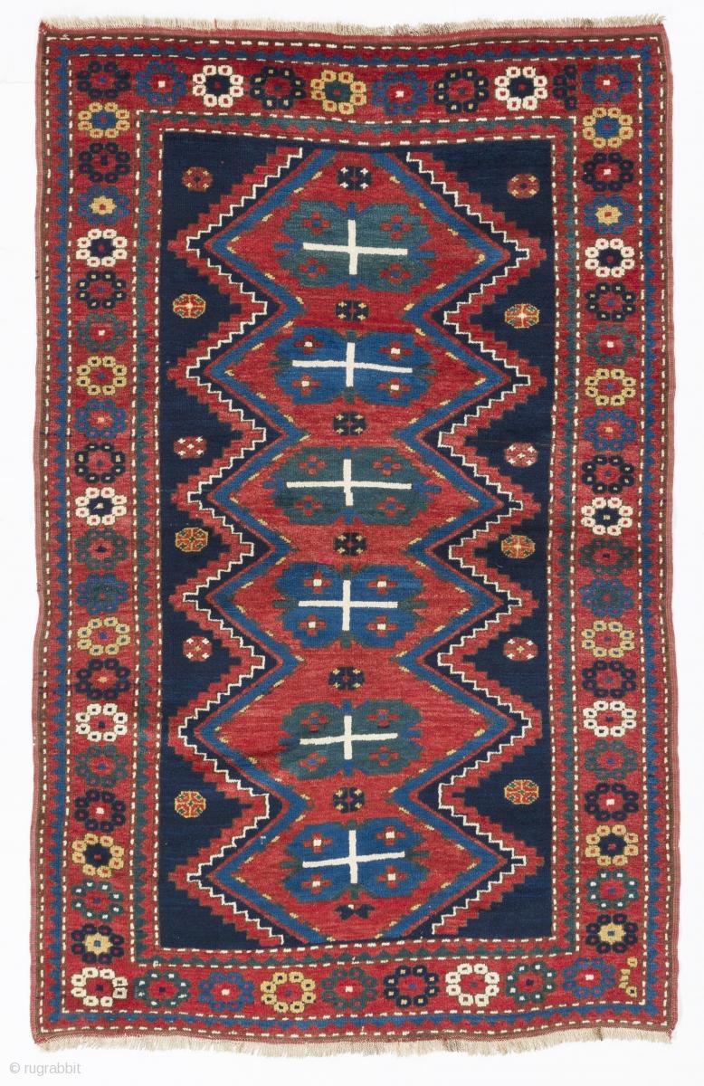 Armenian Kazak Rug 4 6 Quot X 7 136x210 Cm Ca 1910 Full