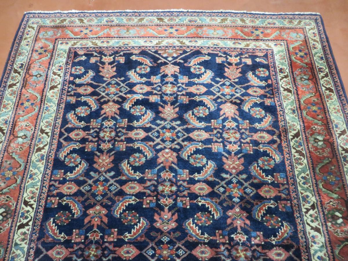 Up For Sale Is A Nice Antique Hand Made Persian Rug