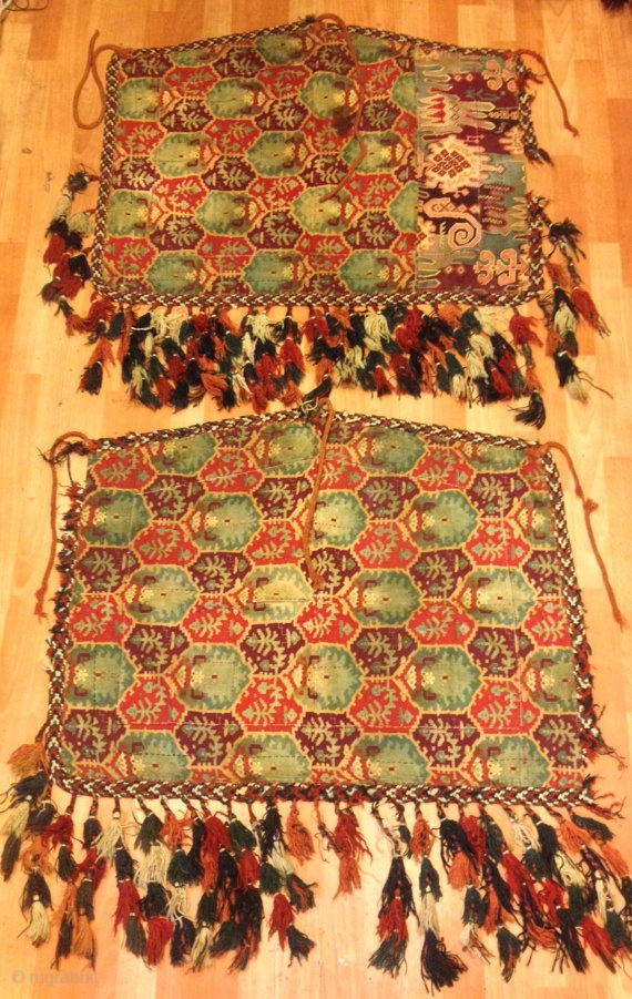 Vintage Turkmen Trapping Ornaments Textiles Totally 2