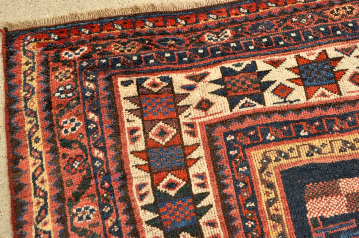 Antique Luri Tribal Persian Rug 4 10 X 8 0 147 X 243