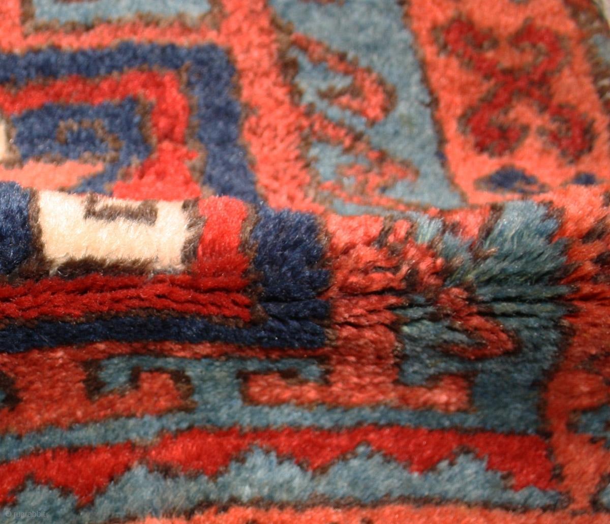 Superb East Anatolian Kurdish Rug, With Rare Design And