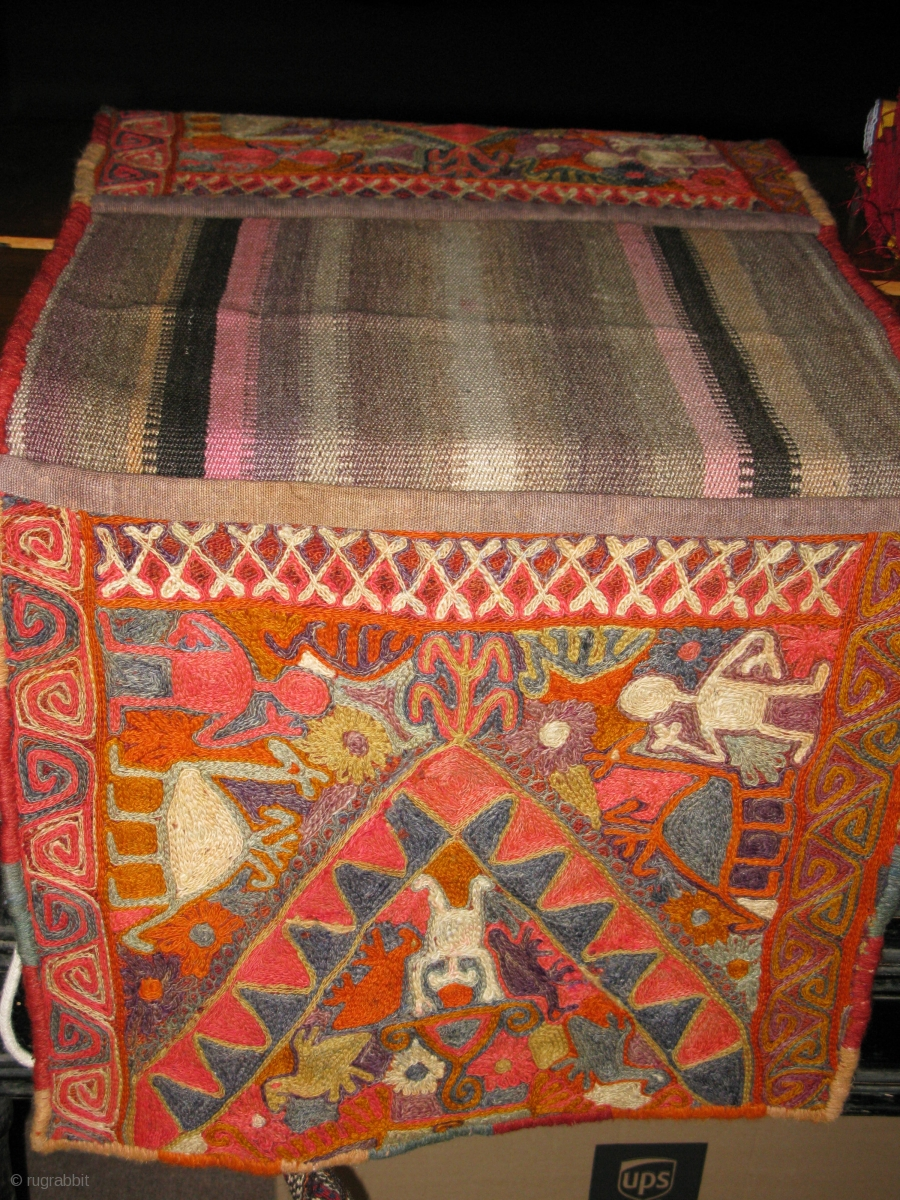 Iraqi Quot Bagdad Quot Double Bag In Perfect Condition All Wool