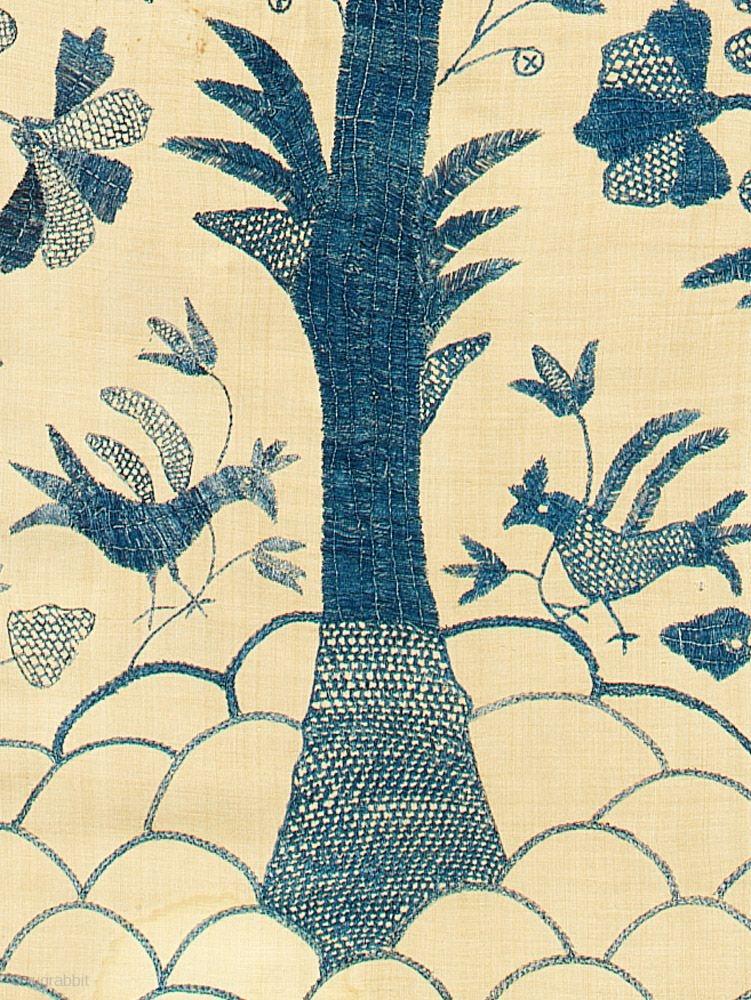 Tree Of Life Colcha Coverlet Castelo Branco Portugal