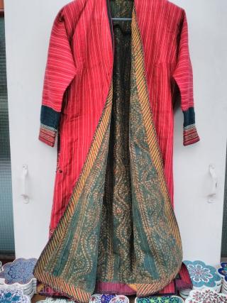 Turkmen Kafhtan silk embroidery