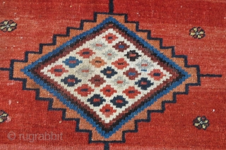 """Highly dramatic 19th century Sarab Hall Carpet 5.44m x 2.55m (17'11"""" x 8'4"""") Edible colours. Combines a wonderful overall composition with numerous interesting elements. This is a very happy carpet!"""
