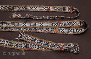Old Band, Qashghay/Lori size: 550x5 cm