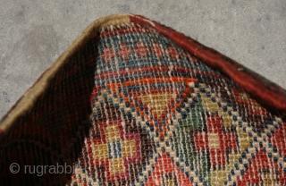 Old Shahsavan chante/bag , size: 35x27 cm