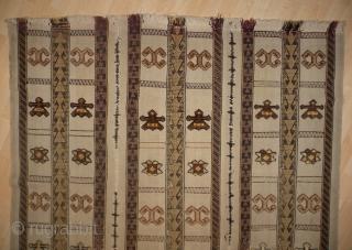 Old Anatolian Elazig Safak Kilim, 151x150 cm