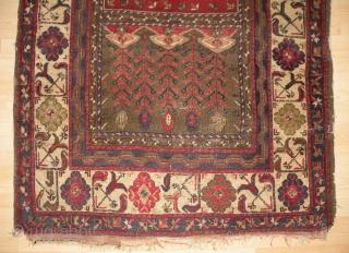 Anatolian Prayer Rug, 143x216 cm