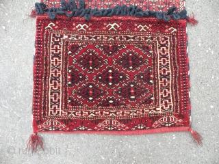 Turkmen Yomud saddle bag, 52x98 cm
