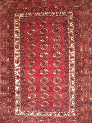 Afghan Ersari rug, 135 x 175 cm