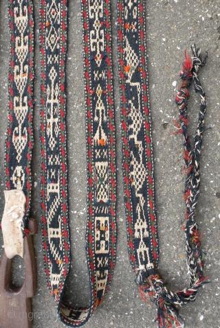 Qashqai pack animal band, 5,5 x 525 cm