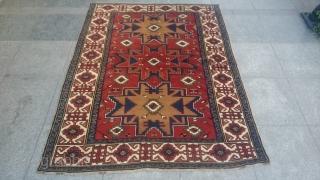 Lezgi Dizayn Derbent Carpet Perfect original piece Good condition and colors Size 170x126