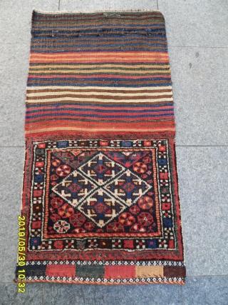 Antique Shiraz Qashqai Bagface size: 45x50.cm