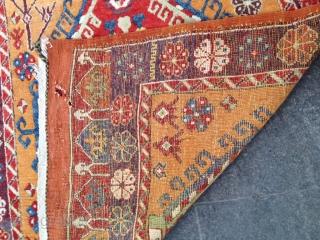 Antique Anatolian Cappadocia Carpet Runner Size 375x125