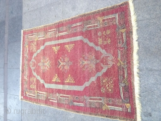 Antique Anatolian Kırşehir Carpet Size 162x105