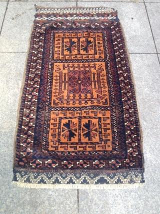 Antique Türkmenistan belüç Yastık Size 96x52